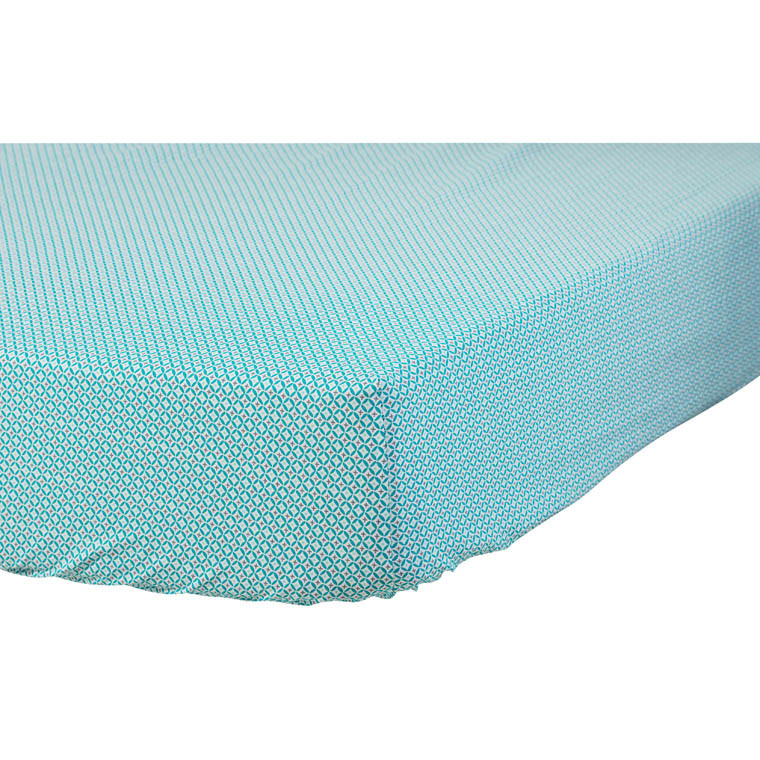Drap housse CURACAO TURQUOISE
