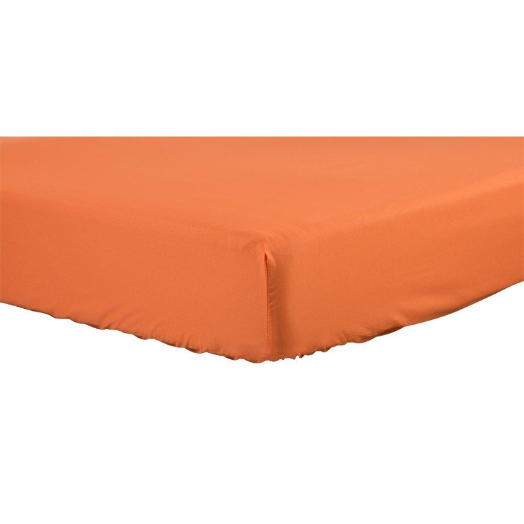 Drap housse INAYA ORANGE
