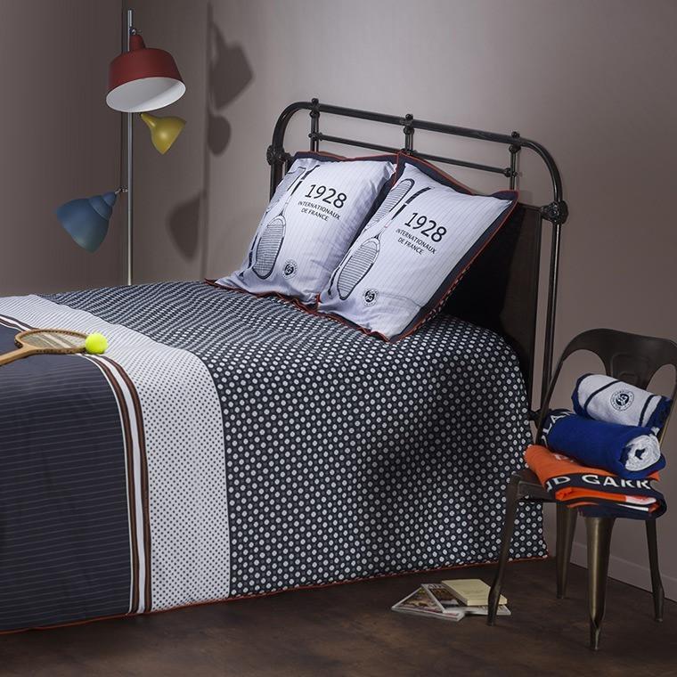 parure de lit roland garros 2016 parures de lit. Black Bedroom Furniture Sets. Home Design Ideas