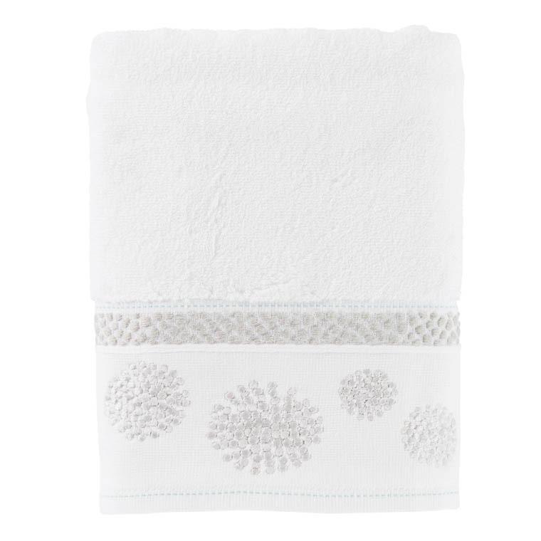serviette invit pearl blanc carre blanc. Black Bedroom Furniture Sets. Home Design Ideas