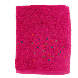 Drap de bain ARTIFICE FUSCHIA
