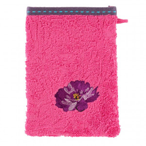 Gant de toilette FLAVIE FUSCHIA