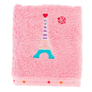 Serviette de toilette OHLALA ROSE