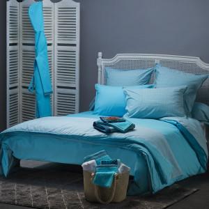 housse de couette unie ou imprim e pour parure carr blanc. Black Bedroom Furniture Sets. Home Design Ideas