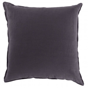 Taie d'oreiller SONGE ANTHRACITE