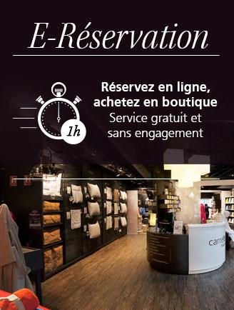 Service e-réservation