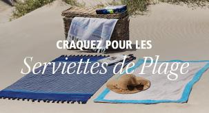 Serviettes de plage et accessoires