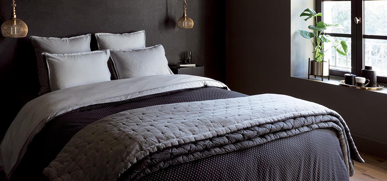 Parure de lit toile de coton Anton
