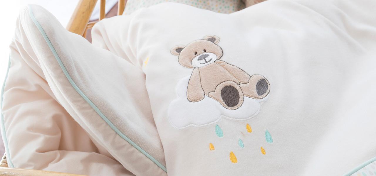 Parure de lit bébé GABIN