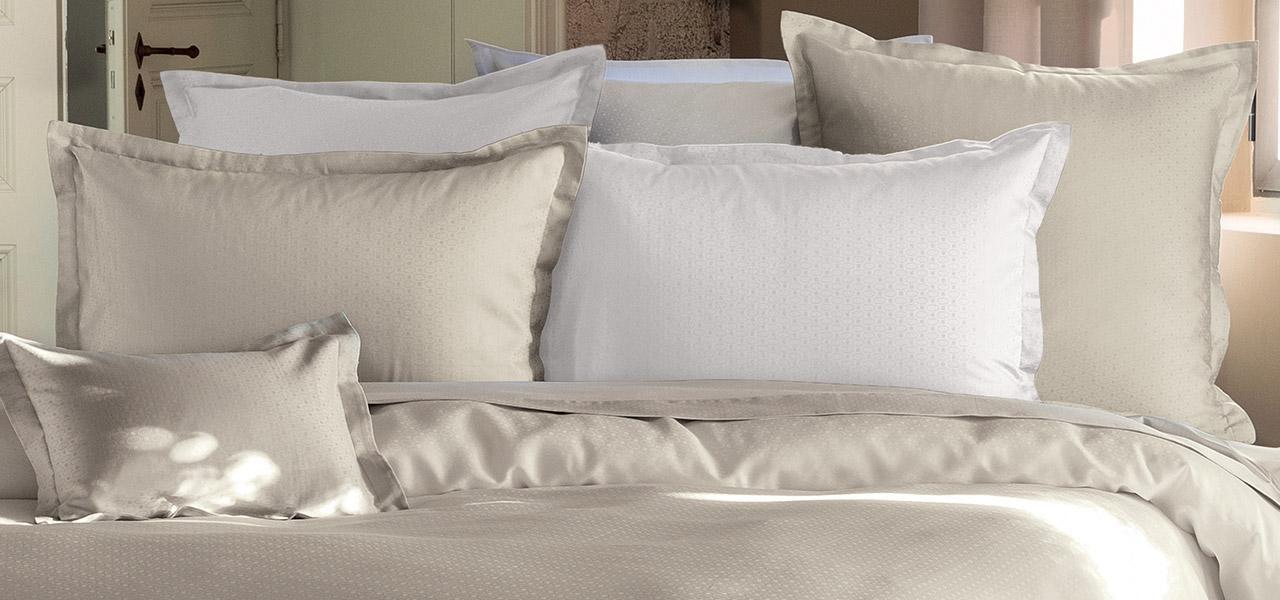 Parure de lit en satin de coton Maestro lin
