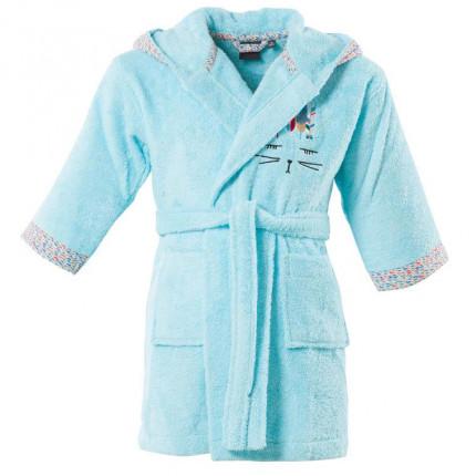 Personnalisé Peignoir à Capuche Serviette Robe De Bébé Garçon Fille Cadeau-Bleu Rose Beige Whit