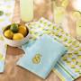 Essuie-verre Limonade jaune