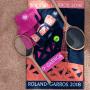 Serviette de plage Roland Garros 2018 MARINE