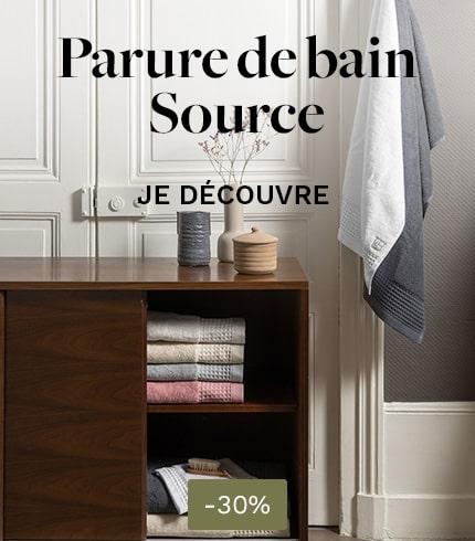 Parure de bain Source