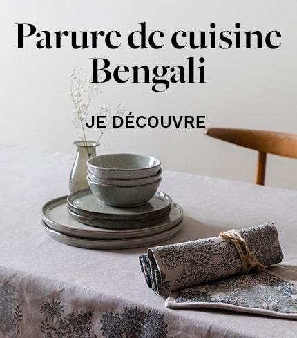 Parure de cuisine Bengali