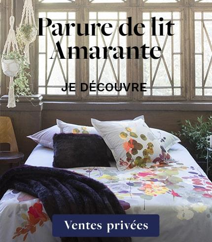 Parure de lit Amarante