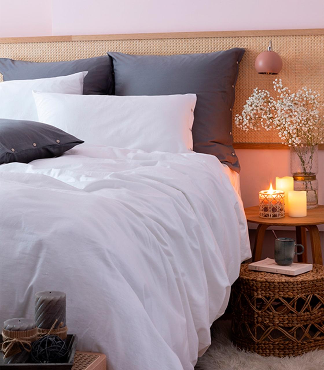 Parure de lit Quartz Blanc