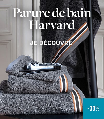 Parure de bain Harvard