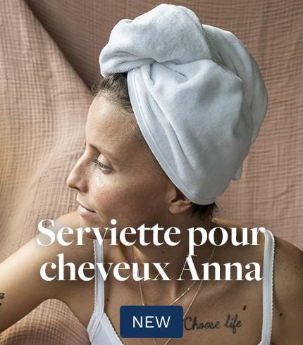 Serviette cheveux Anna