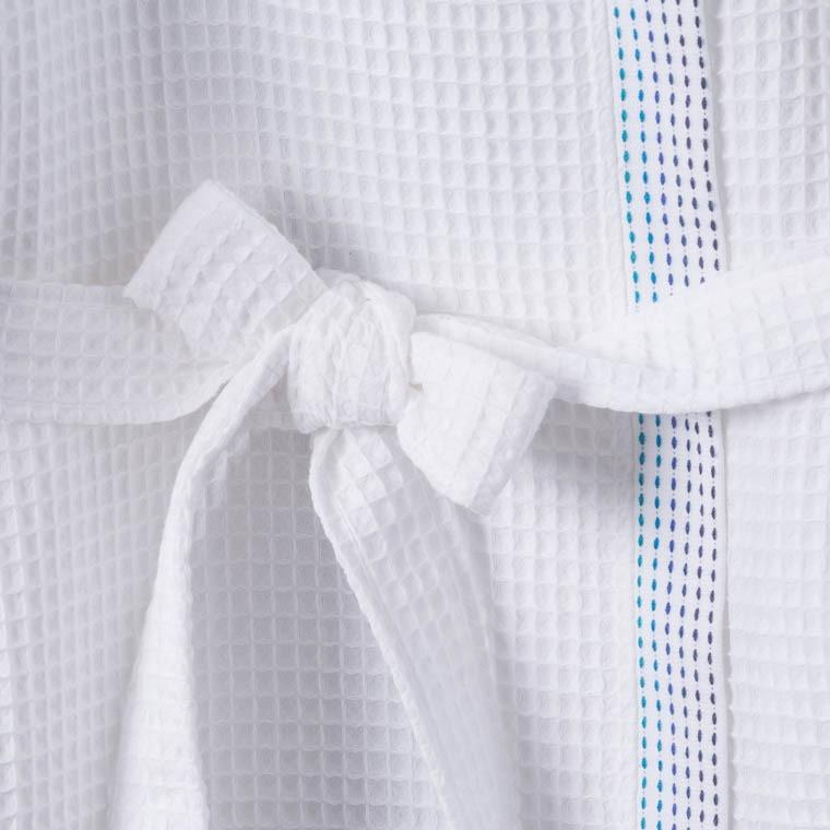 peignoir femme kargo blanc carre blanc. Black Bedroom Furniture Sets. Home Design Ideas