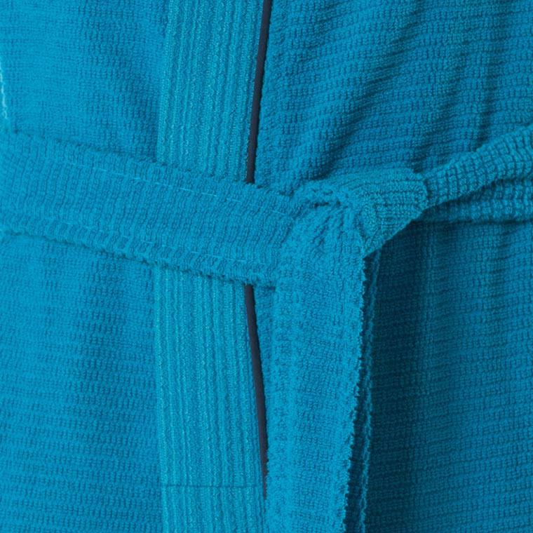 Peignoir homme coton kimono Aloe canard - 4