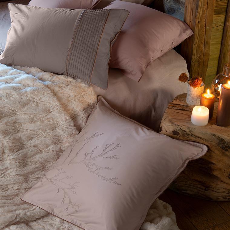 Parure de lit satin de coton Blush  - 6