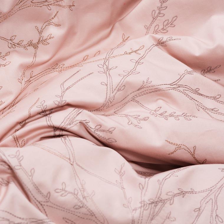 Parure de lit satin de coton Blush  - 2