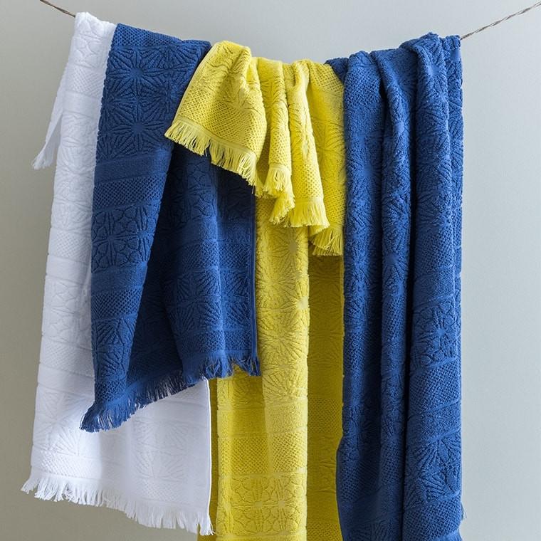 Serviette de toilette coton Chiara anis - 3