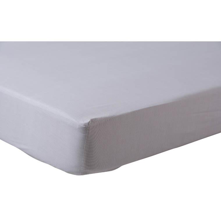 drap housse dreams carre blanc. Black Bedroom Furniture Sets. Home Design Ideas