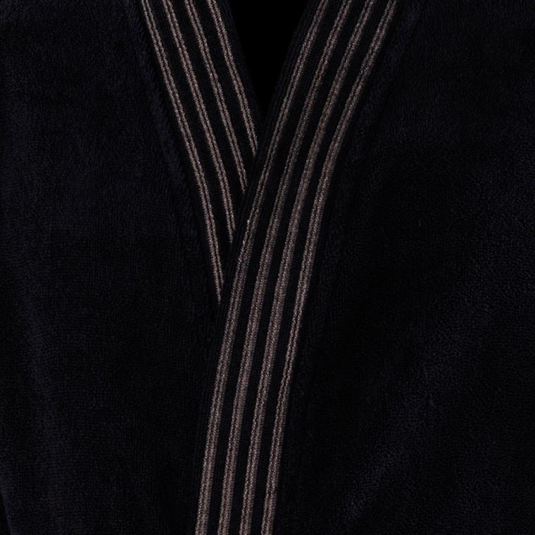 Veste polaire homme kimono Havane anthracite  - 3