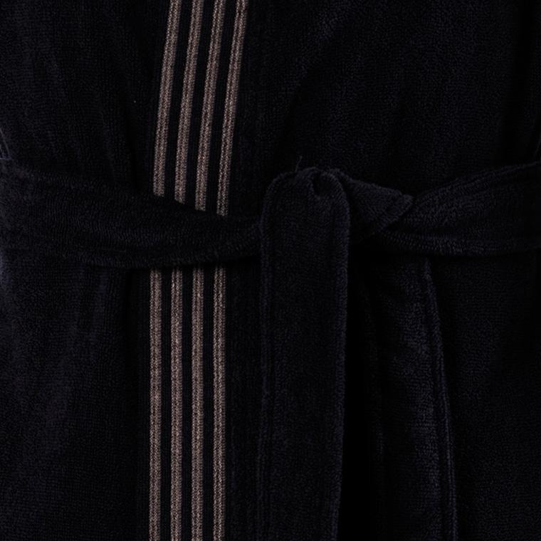 Veste polaire homme kimono Havane anthracite  - 5
