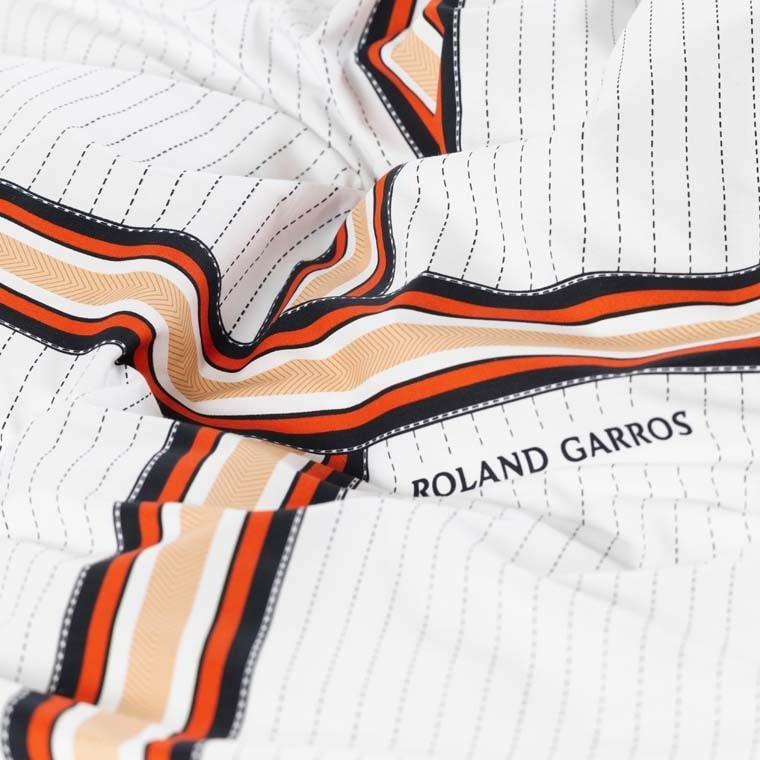 Parure de lit percale de coton imprimée Héritage - Roland-Garros 2021 - 3