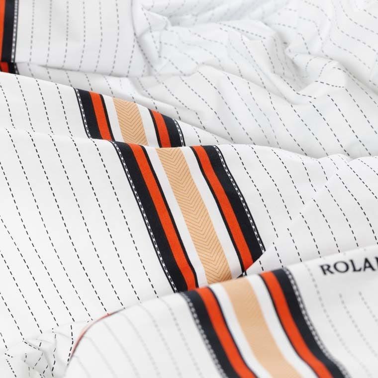 Parure de lit percale de coton imprimée Héritage - Roland-Garros 2021 - 4