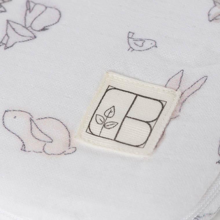 Nid d'ange coton biologique imprimé animaux Imagine - 2
