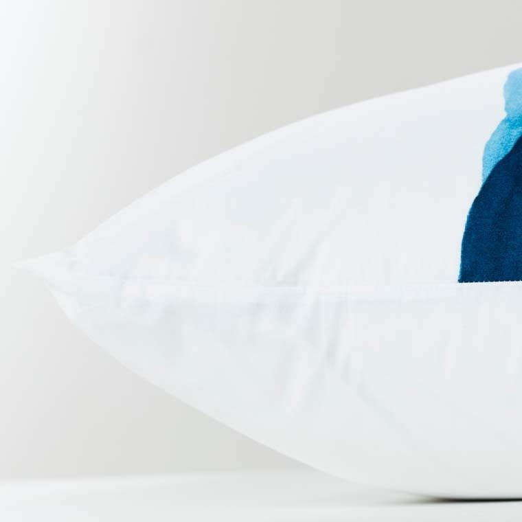 Taie d'oreiller rectangulaire percale de coton imprimée paysage de montagne Le lac - 11