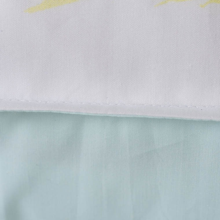 Taie d'oreiller rectangulaire percale de coton Leveza - 2