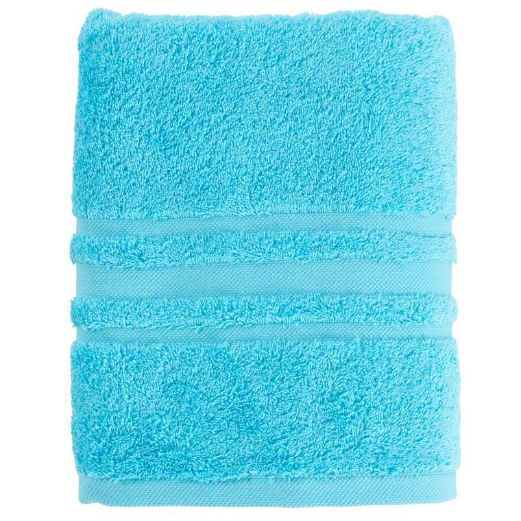 Drap de bain coton Lola II turquoise - 0