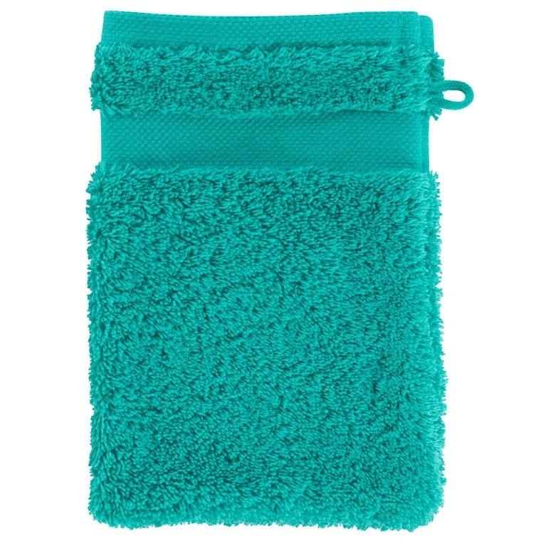 Gant de toilette coton Lola II menthe - 0