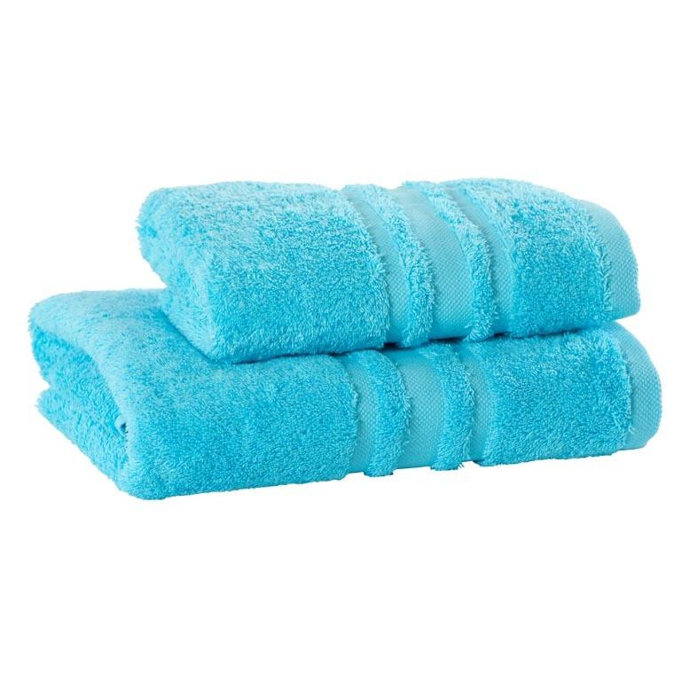 Drap de bain coton Lola II turquoise - 2