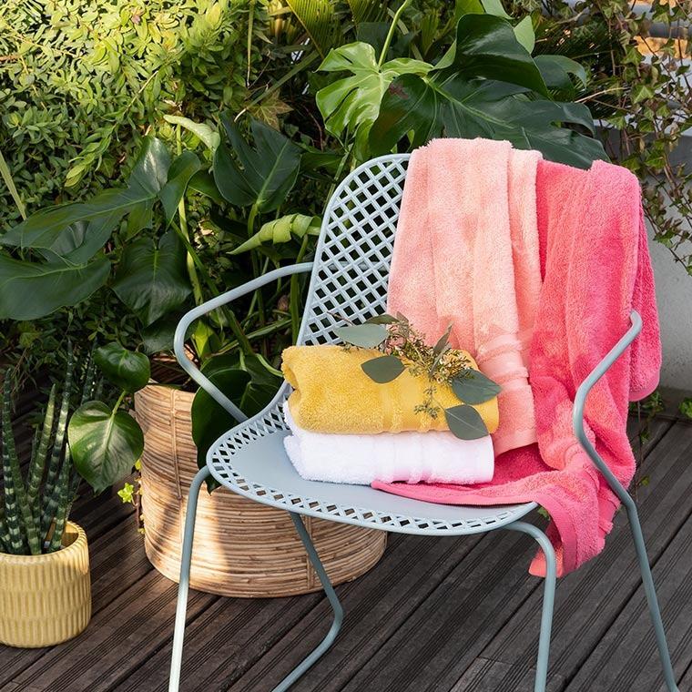 Serviette de toilette coton Lola II ananas - 3