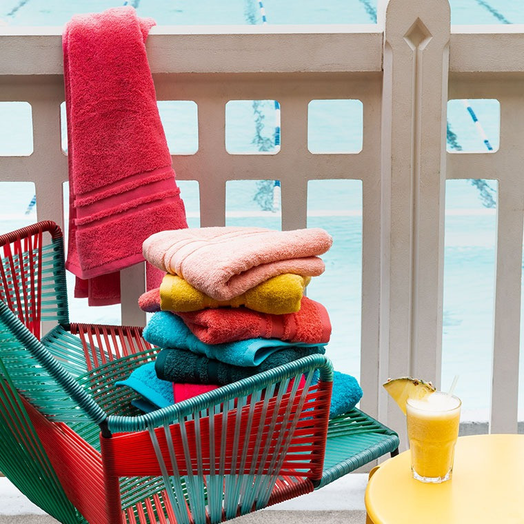 Serviette de toilette coton Lola II ananas - 4