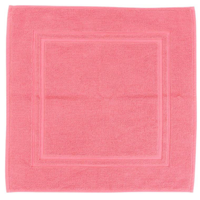 Tapis de bain coton Lola II rose - 1