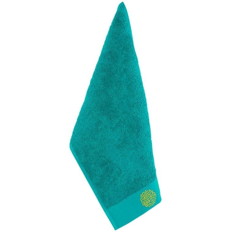 Serviette invité coton Margaux vert - 0