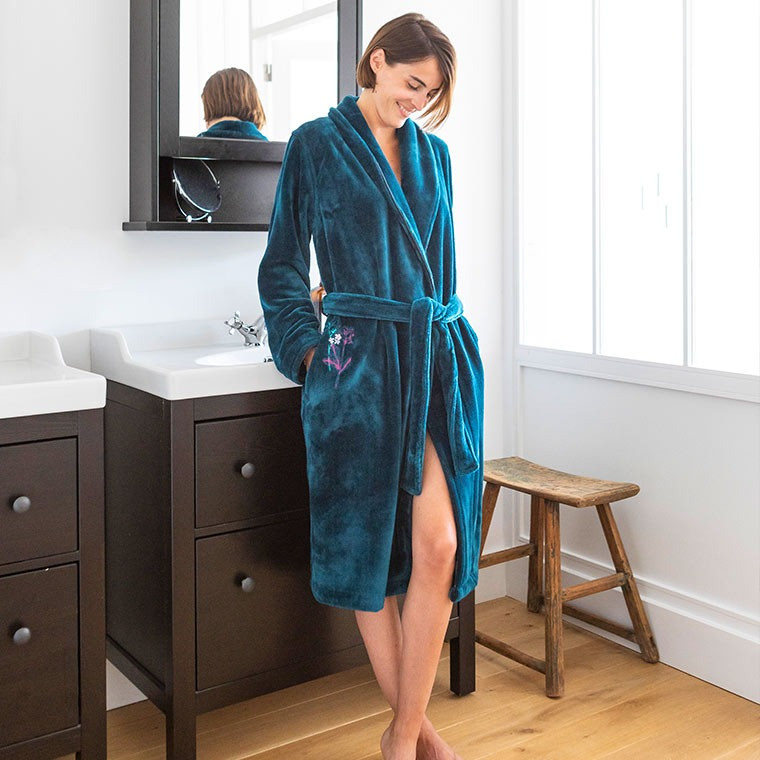 Ombelles Canard Robe De Chambre Femme 8Nn0mw