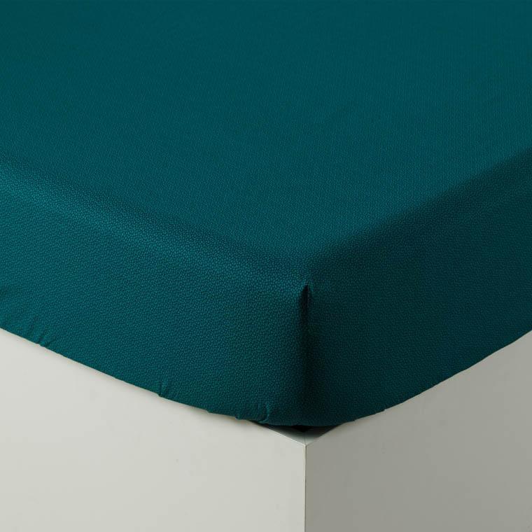 Parure de lit percale de coton imprimée liberty fleurs Ondine bohème - vintage - 8