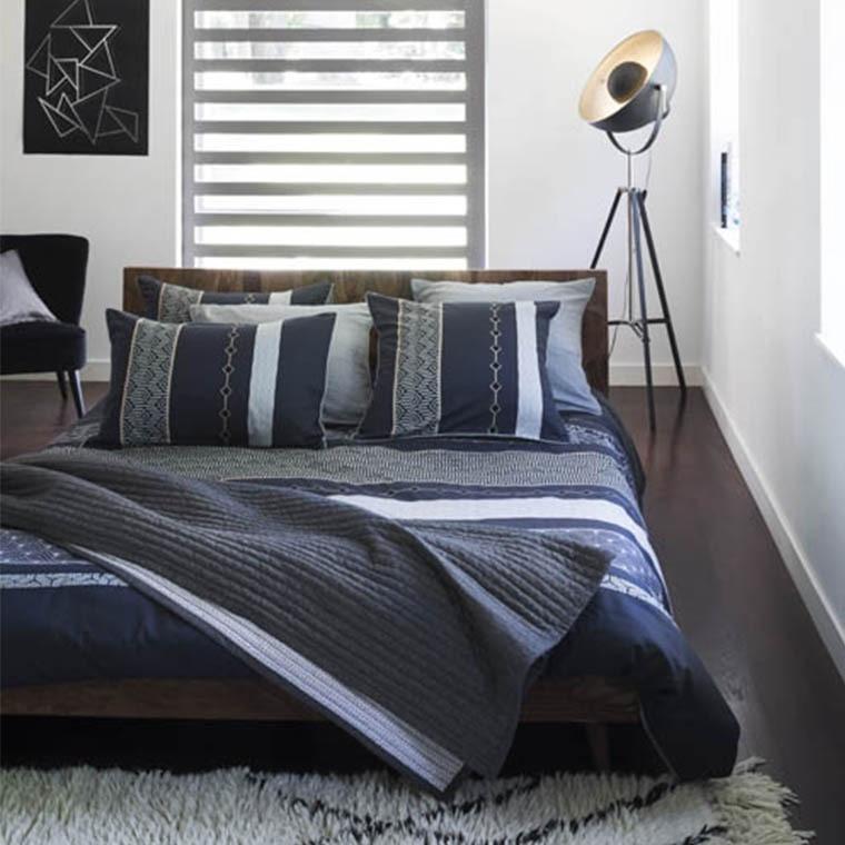 housse de couette preston carre blanc. Black Bedroom Furniture Sets. Home Design Ideas