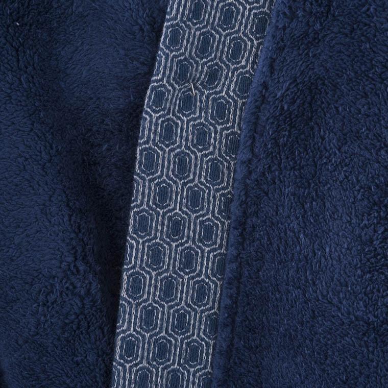 Robe de chambre homme PRESTON BLEU NUIT - 2