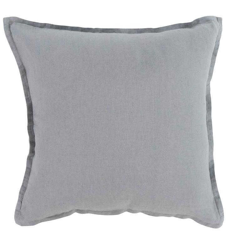 housse de coussin songe gris carre blanc. Black Bedroom Furniture Sets. Home Design Ideas