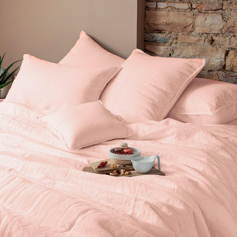 Parure de lit lin et coton lavé Songe plusieurs coloris - 11