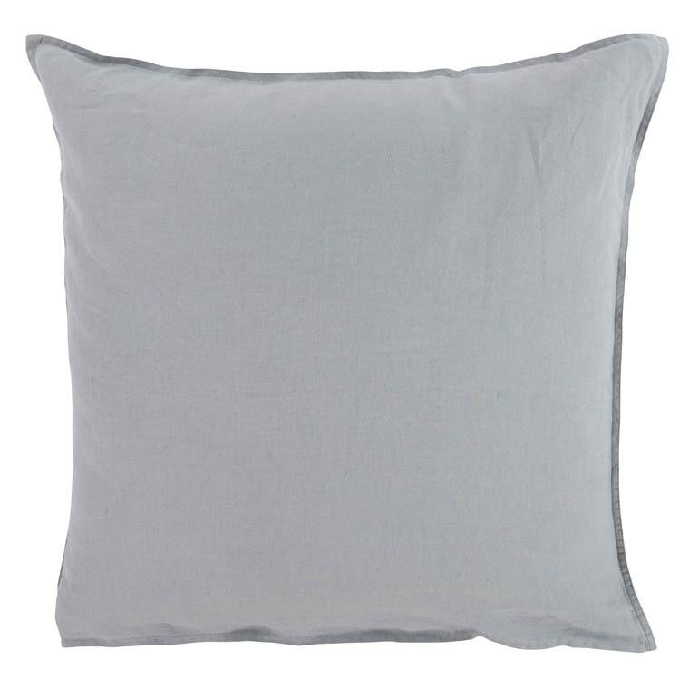 taie d 39 oreiller carr songe gris carre blanc. Black Bedroom Furniture Sets. Home Design Ideas
